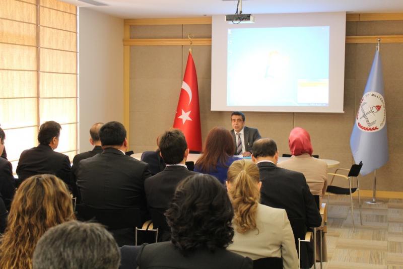 Uluslararası Projeler Değerlendirme Toplantısı