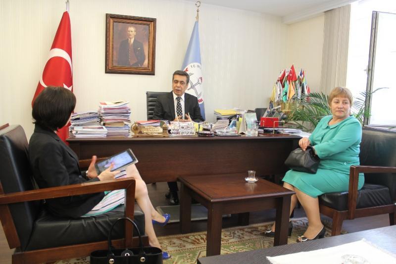 Moldova Eğitim Bakanı Ziyareti